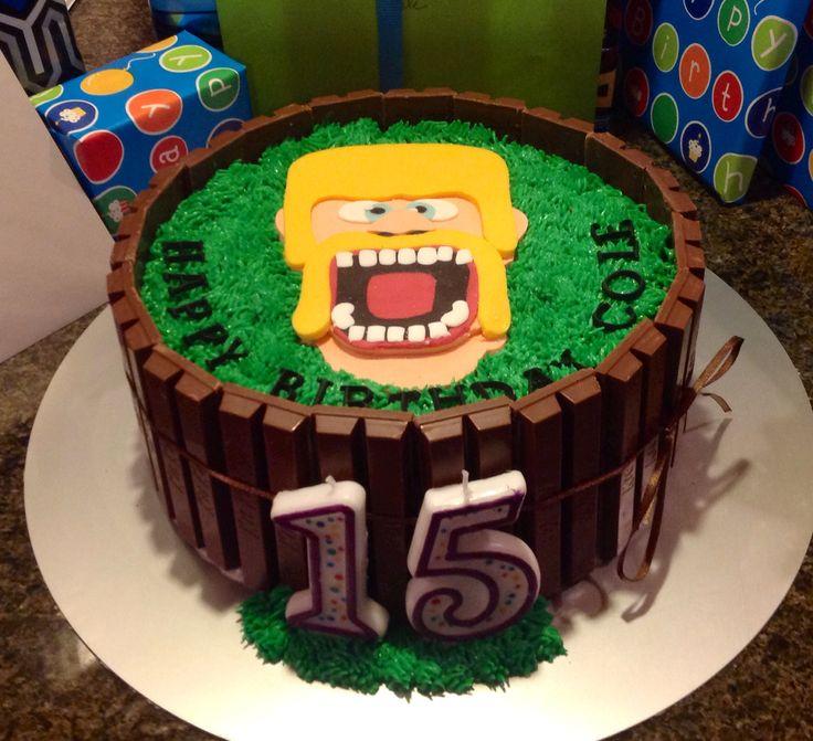 cakes for birthday 10th birthday birthday ideas kit kat cakes clash of ...