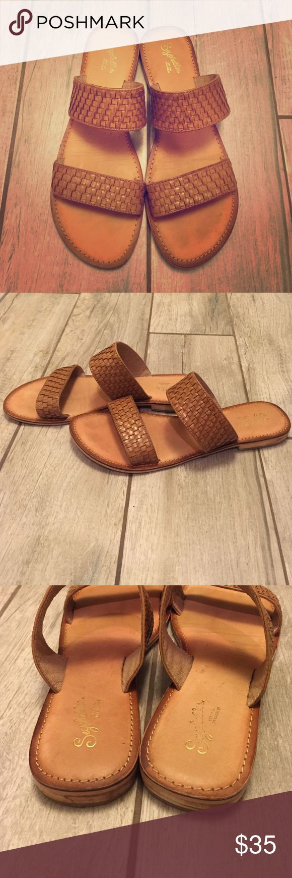 Seychelles slip on sandals Seychelles slip on sandals. Go with everything and only worn once! Seychelles Shoes Sandals