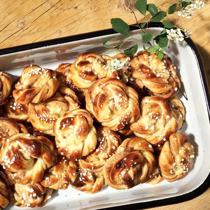 Kanelbullar: die besten Zimtschnecken aus Schweden. Hier gibts das Rezept.