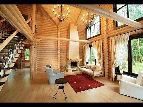 Wnętrza domów z bali INSPIRACJE Bioikos Domy z bali syberyjskich