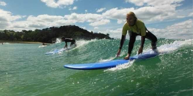 Discover the magic of riding the waves and get delighted with the surf tours offered by Backpacker deals. You will not only surf but get the best camping experience with great food and people.