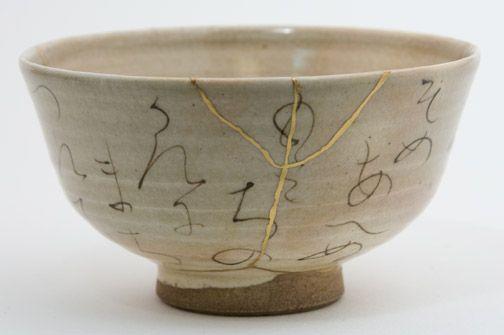 Chawan - Kintsugi (gold repair)