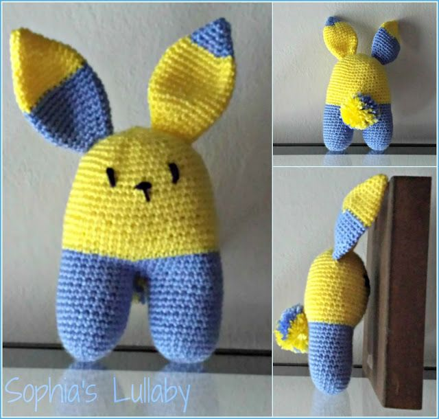 #bunny #sophiaslullaby #handmade #lanasyovillos #lanukas #amigurumi #easter #crochet