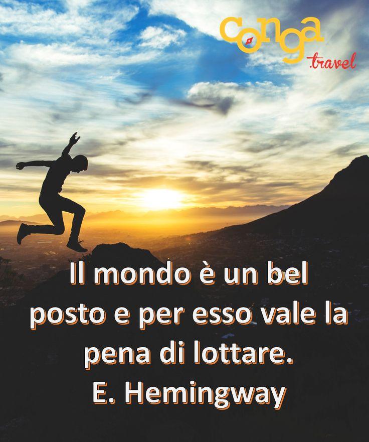 Viaggiatori e sognatori, siete d'accordo con #Hemingway? #travellers #quotes