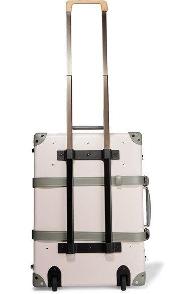 Globe-Trotter - Emilia 21'' Leather-trimmed Fiberboard Travel Trolley - Pink - one size