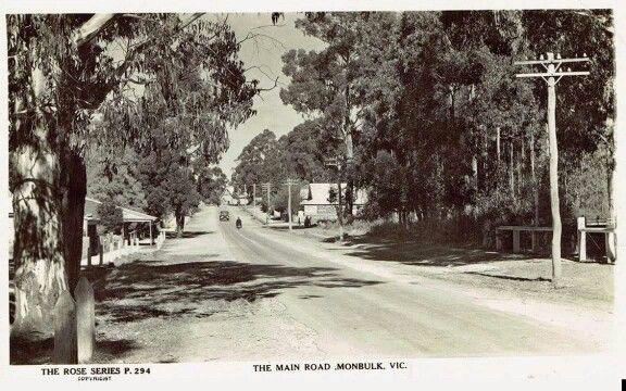Monbulk Victoria.1940's.