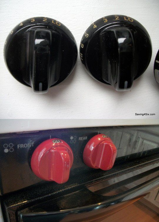 10 Household Appliances Totally Transformed by Spray Paint: Definitely wouldn't do pink, but what a cool idea!