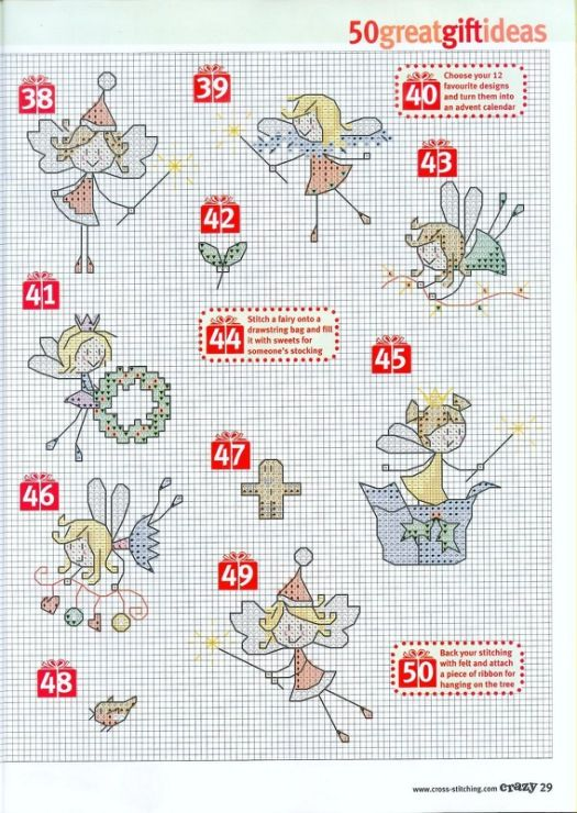 Gallery.ru / Фото #1 - 2 - Auroraten cross stitch little fairy crazy