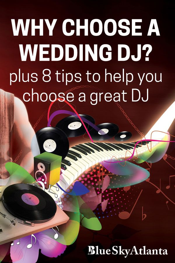 Why Should You Choose A Wedding Dj