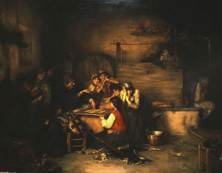 """""""The Fortune Teller"""", 1885  ~  Nikolaos Gyzis"""