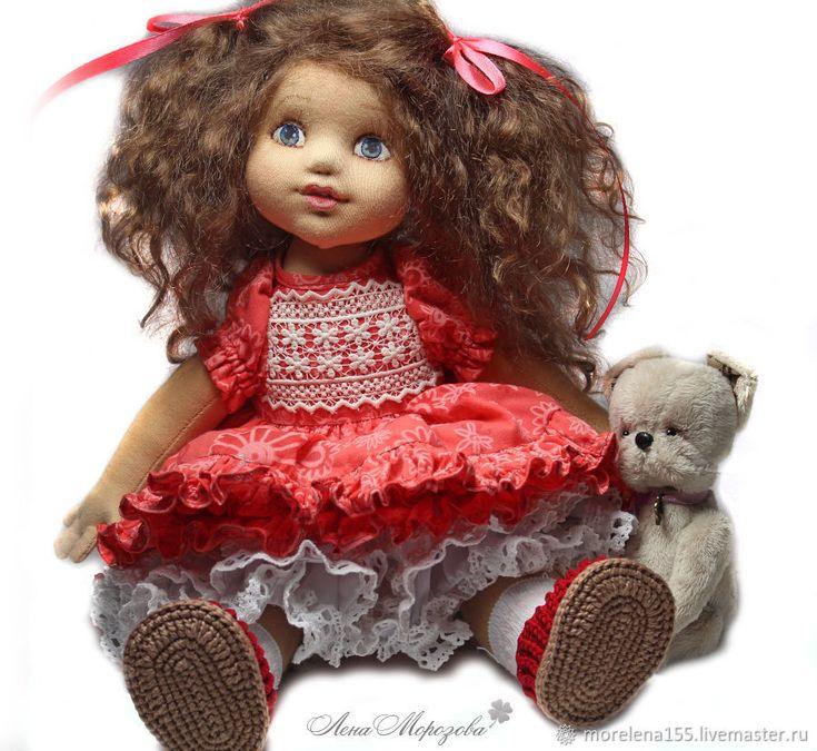 Купить Милана. Авторская текстильная кукла в интернет магазине на Ярмарке Мастеров