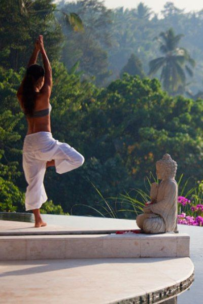 I'd like to do a Yoga class or retreat at Lembah Spa in Bali........