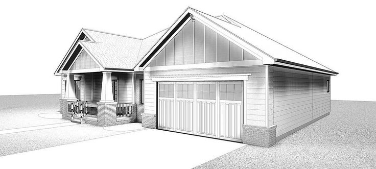 Plan 62565DJ: Craftsman Ranch House Plan