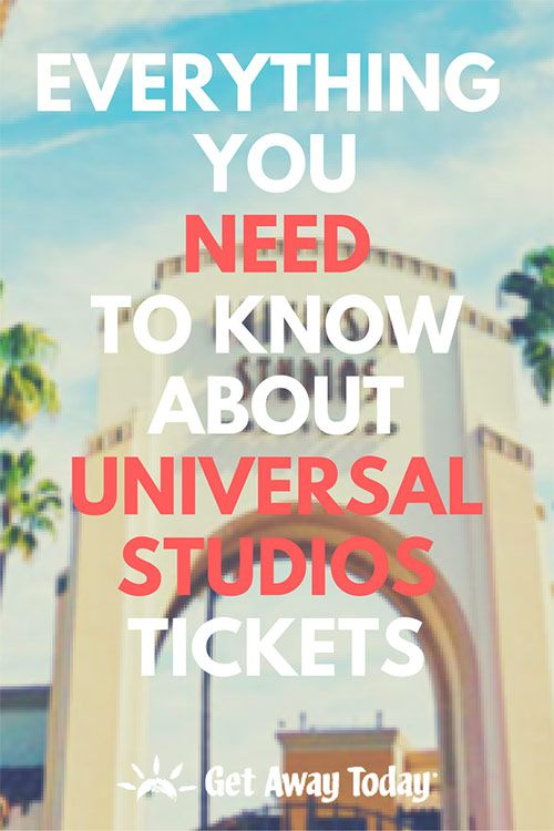 Universal Studios Hollywood Ticket Discounts and Info