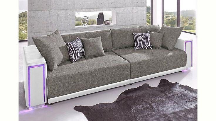 Luxury Big Sofa inklusive RGB LED Beleuchtung Energieeffizienz A Jetzt bestellen unter https moebel ladendirekt de wohnzimmer sofas bigsofas uid udd u