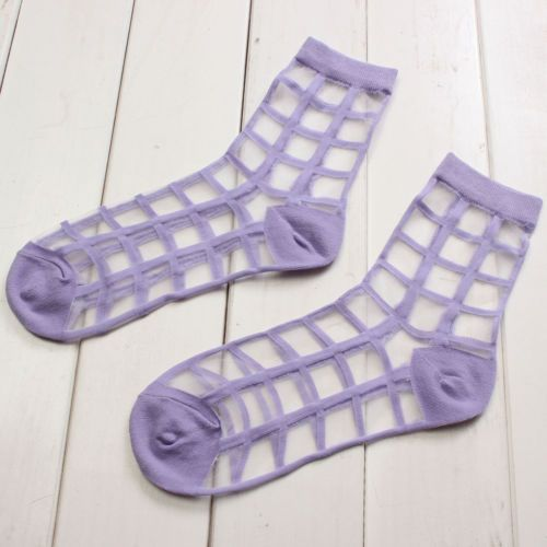 2015-New-Women-Lady-Transparent-Ultra-thin-Crystal-Silk-Short-Socks-Ankle-Socks