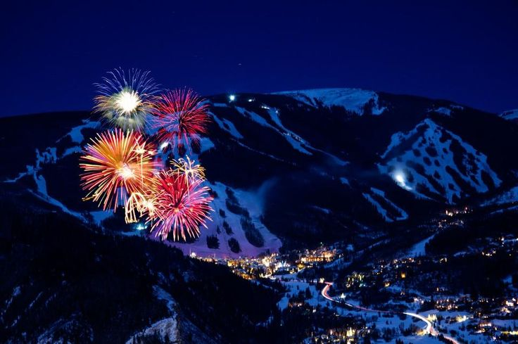 Fireworks at Beaver Creek, CO