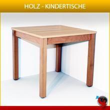 Kinder #Holztisch, #Kindertisch, KITA #Tisch, #Kindergartentisch,  #Buche massiv, Tischplatte 22 mm stark, wiederstandsfähiger Schichtstoff lackiert, Tischbeine 60 x 60 mm, Füsse mit Kunststoffgleitern. Farbige Schichtstoffe.   Sonderanfertigungen auf Anfrage.  alle Höhen lieferbar  420 mm  460 mm 520 mm 580 mm 640 mm 700 mm  720 mm    Abmessung: 420-720 x 600 x 600 mm (Höhe x Breite x Tiefe)