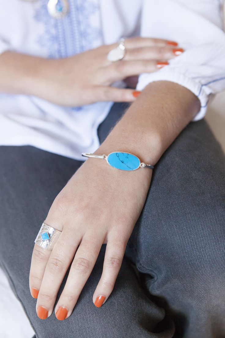 Bold blues and striking silvers. Fair trade, hand-made jewellery from central Mexico.