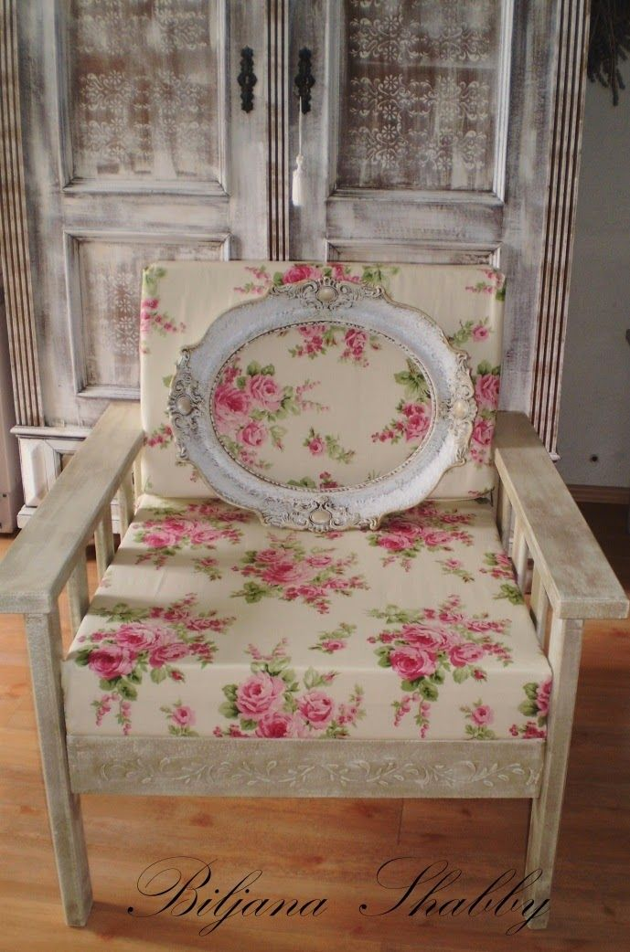romantic shabby chic armchair redo shabby chic furniture