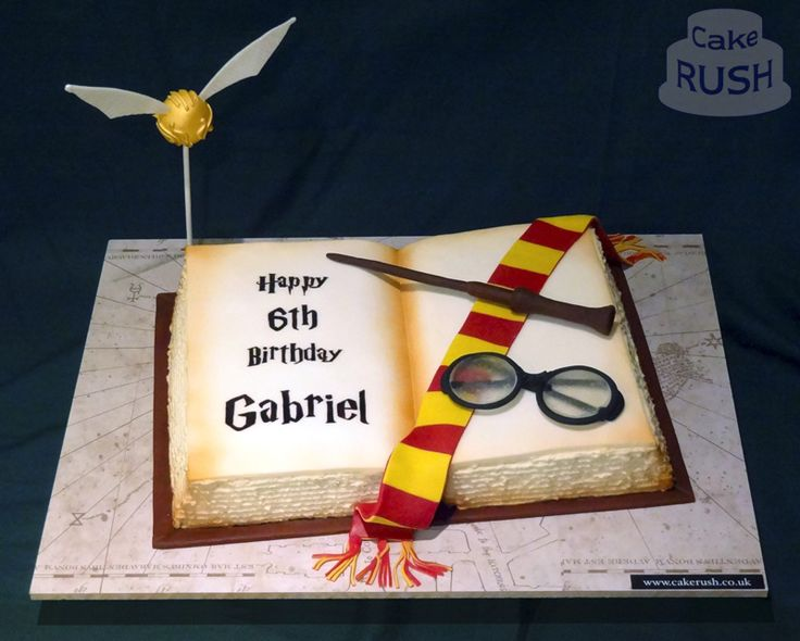Harry Potter Birthday Cake Supermarket