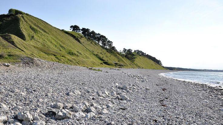 Beach near Klint