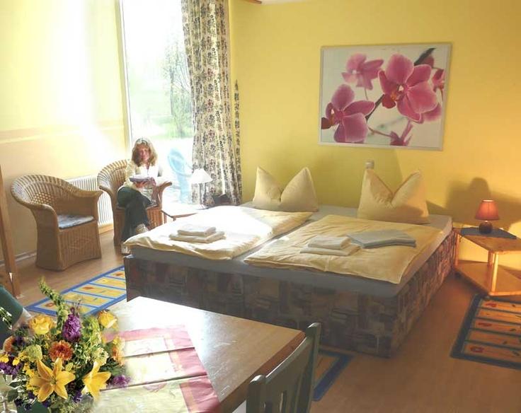 Gemütliche Zimmer im Wellnesshotel Sagasfeld in der Lüneburger Heide