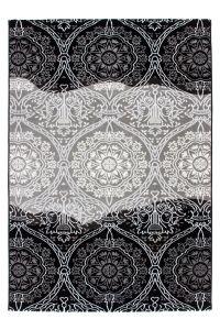 Blattschuss von Luxus Teppich Christin Schwarz