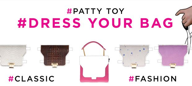 Patty Toy, dress your bag | The colours of my closetPatty Toy, dress your bag - The colours of my closet