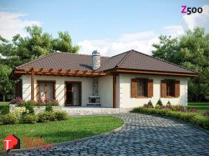 Z6. Проекты домов (до 100 м2). Одноэтажные дома