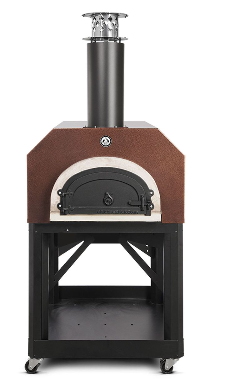 Mediterranean wood fired pizza oven - Mobile Wood Burning Pizza Oven