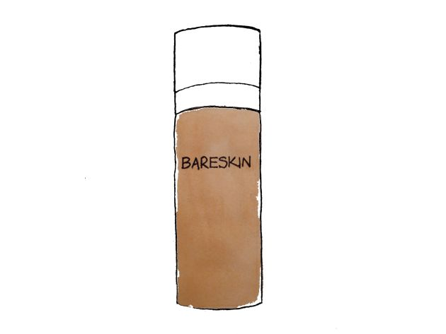 Foundation – BareSkin from bareMinerals illustration by Ana for Better Than Ann