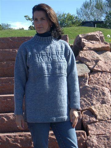 Guernsey Sweater Kit – Cottage Craft