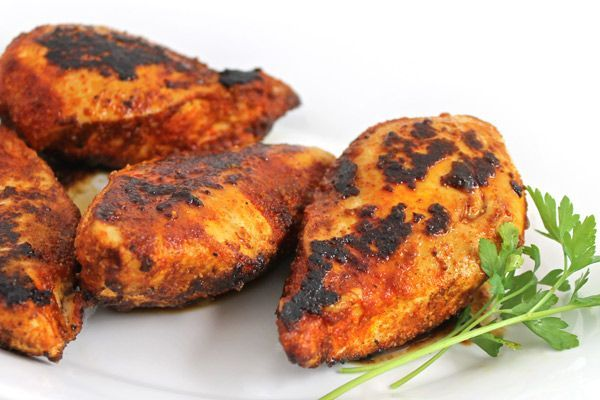 (NEW Recipe) This chicken is moist, packed with flavor and darn right delicious! The seasonings are perfect, with just a hint of spice. Most blackened recipes are way to spicy for my taste,…