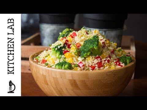 Σαλάτα με Κινόα   Kitchen Lab by Akis Petretzikis - YouTube