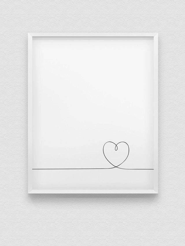 stampa del cuore / / love stampa / / bianco e nero minimalista wall decor / / romantico muro art / / linea stampa cuore / / linea illustrazione del cuore di spellandtell su Etsy https://www.etsy.com/it/listing/255938584/stampa-del-cuore-love-stampa-bianco-e
