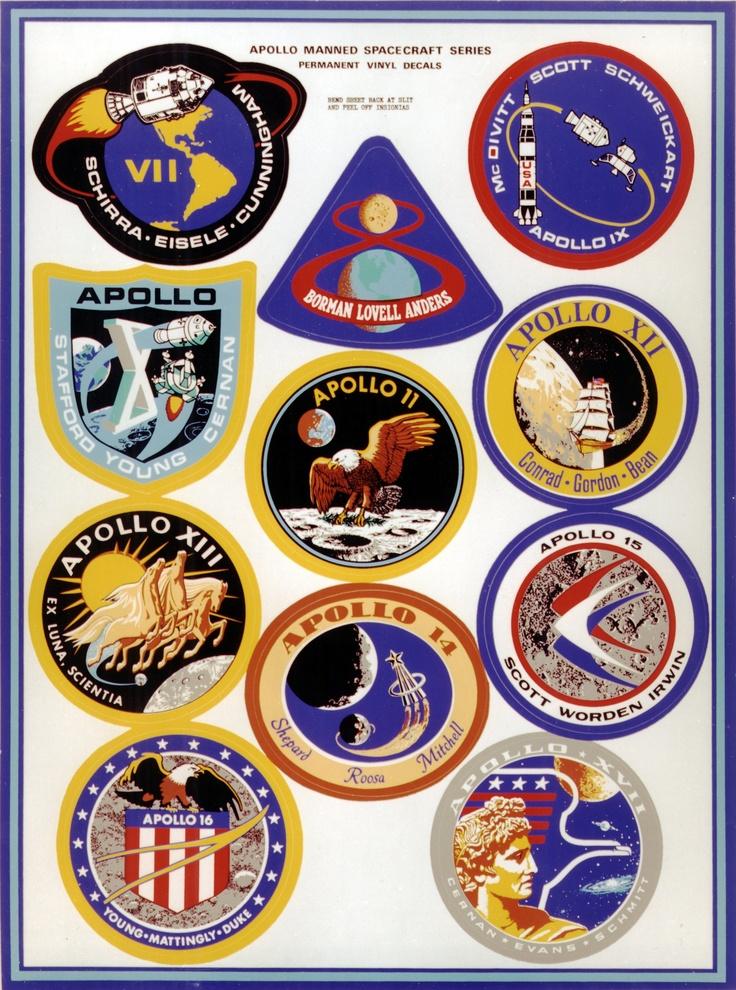 apollo space mission badges - photo #8