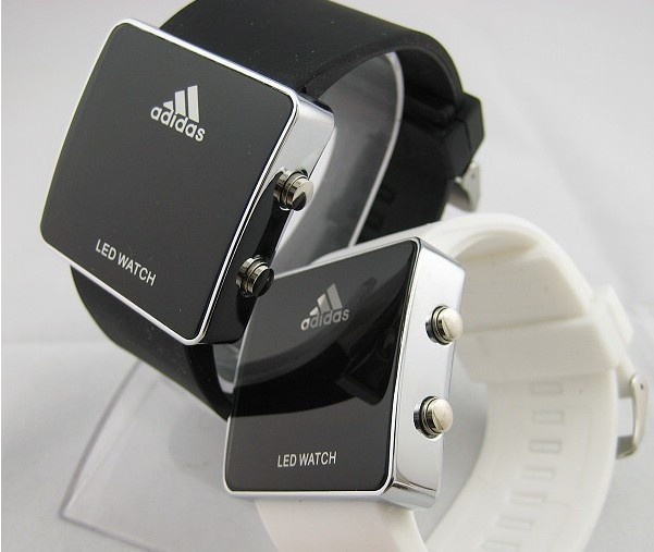How clean are these watches from Addidas?? Hahaha there siiiiick. Looks like they come in white and black. Cool I'll take both #gymgear #gymswag #workoutwatch #fitnessgear #bodybuilding