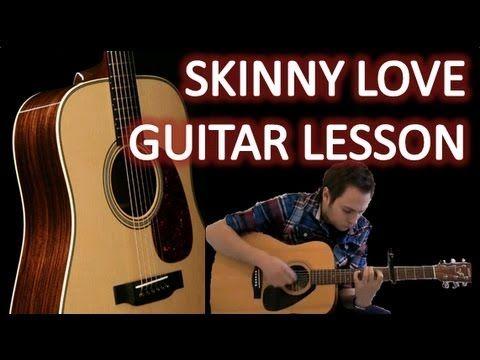 Bon Iver Skinny Love Easy Guitar Lesson Easy Riff How To