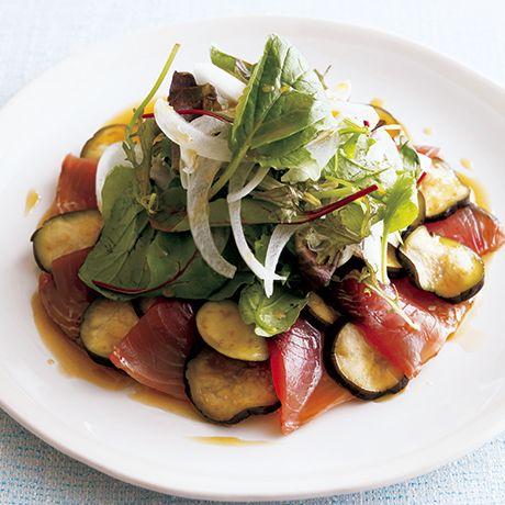 なすとかつおのカルパッチョ | 神保佳永さんのサラダの料理レシピ | プロの簡単料理レシピはレタスクラブニュース