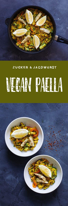 Vegan Paella with artichokes
