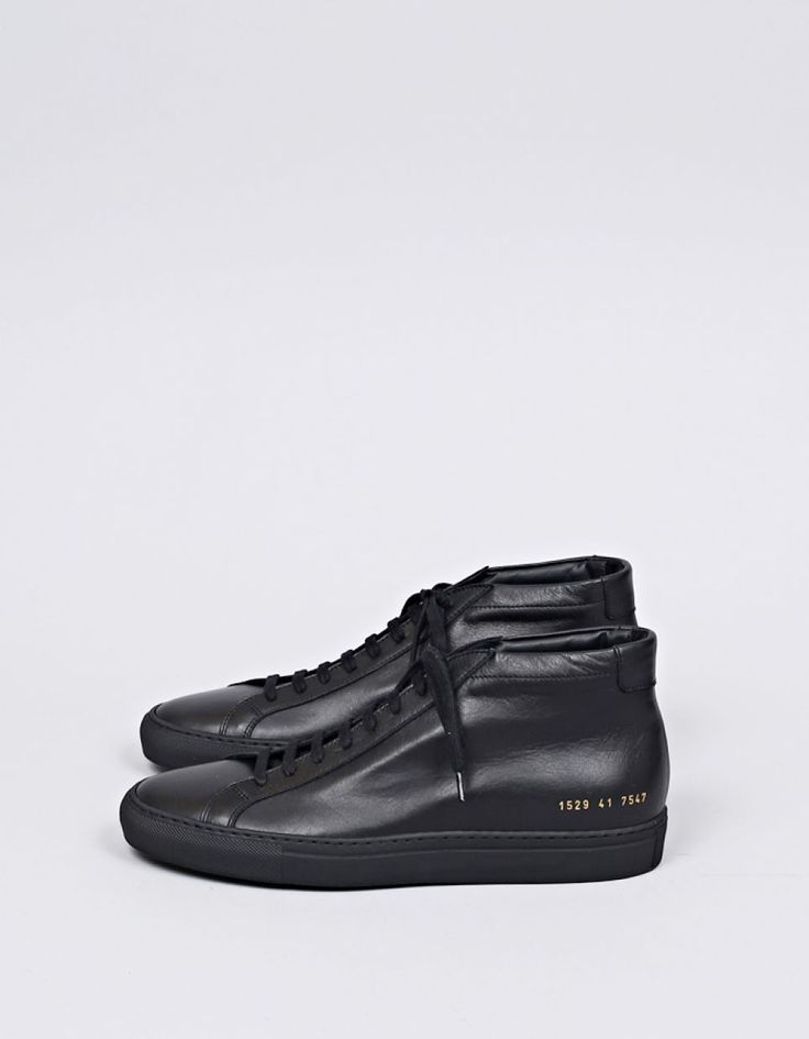 Common Projects - Original Achilles Mid Black