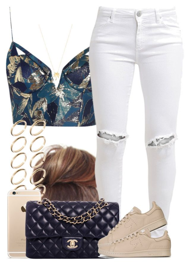 """""""Today's my birthday! ☺️ any other Leos on here? ♌️"""" by livelifefreelyy ❤ liked on Polyvore featuring Zimmermann, FiveUnits, ASOS, Chanel, adidas and Joolz by Martha Calvo"""