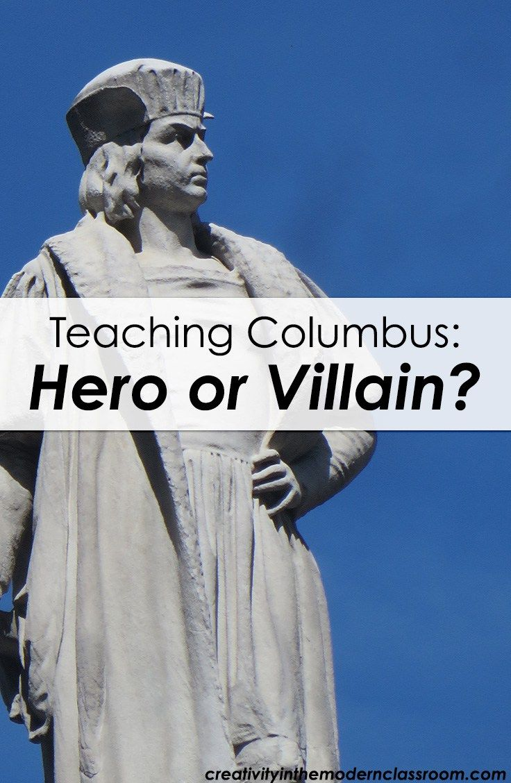 images about apush per  teaching christopher columbus hero or villain