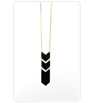 Arrow of Time Necklace