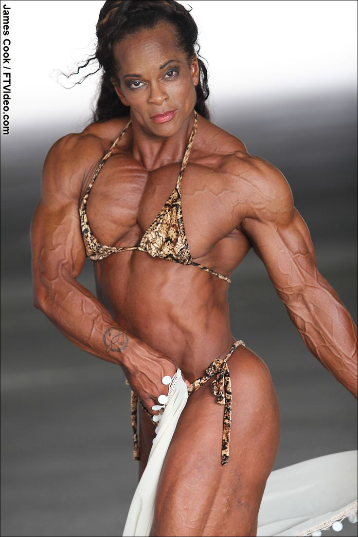 Ftvideocom Female Bodybuilders Flexing, Video Clips -4666