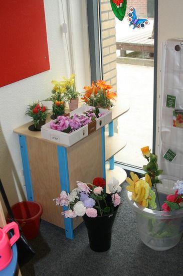 de huishoek wordt bloemenwinkel