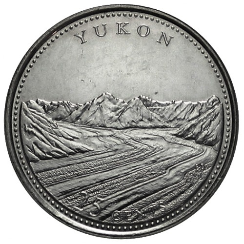 Canadian Coin Collection: Yukon 1992 - 125th Anniversary of Confederation