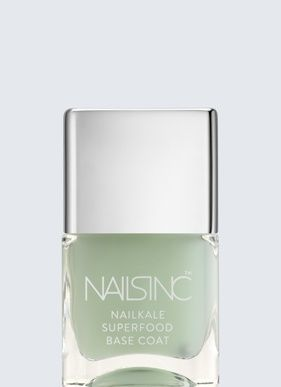 For Brittle, Dry Nails: Nails inc Superfood NailKale Base Coat | Nailsinc.com