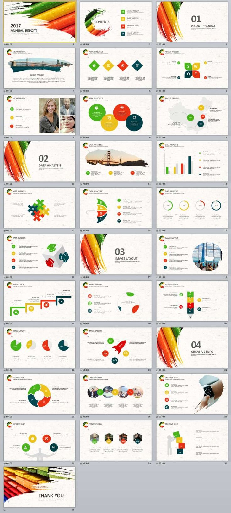 Best 25 create powerpoint template ideas on pinterest create 31 annual design slide powerpoint templates alramifo Image collections